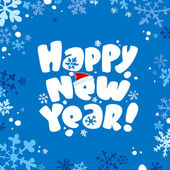 New year card. — Stock Vector