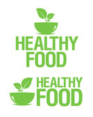 Healthy Food icons. — Stock Vector