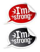 I am bestseller stickers. — Stock Vector