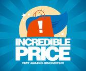 Verkauf-entwurfsvorlage unschlagbar günstigen preis. — Stockvektor