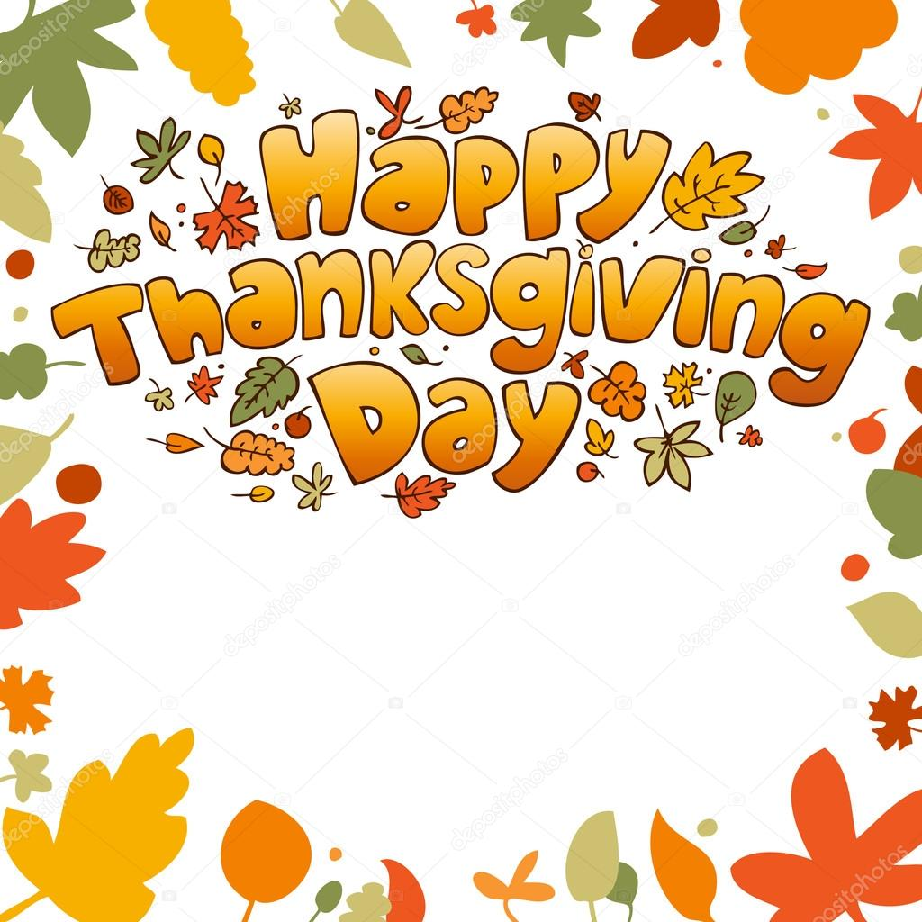 Happy Thanksgiving Day card. — Stock Vector #14211175