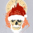 New Year design with Santa - 