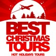 Best Christmas tours design template. - 