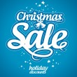 Christmas sale design template. - 