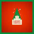 Christmas card design. - 