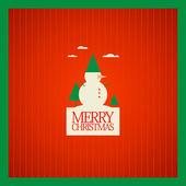 圣诞贺卡设计. — 图库矢量图片