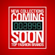 New collections, coming soon design. - 