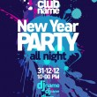 New Year Party design. — Vector de stock