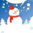 Christmas card. - Stock Vector