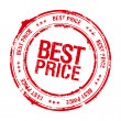 Stock Vector: Best price stamp.