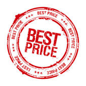 Best price stamp. — Stock Vector
