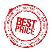 Najlepsza cena pieczęć. — Wektor stockowy