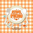 Kids menu. — Stockvector #18620075