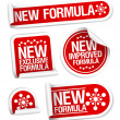 New Formula stickers. — Stock Vector #18620119