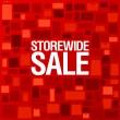 winkel breed verkoop achtergrond — Stockvector