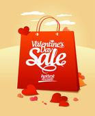 Valentine`s day sale. — Wektor stockowy