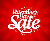 Valentine`s day sale. — Stock Vector