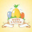 Happy Easter design. — Stock Vector