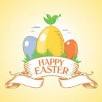 Happy Easter design. — Stock Vector