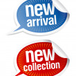 New collection stickers. - Image vectorielle