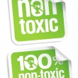Non toxic stickers. -  