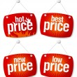 Best price signs - Stock Vector