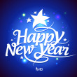 New Year card design. - Imagen vectorial