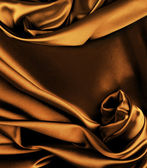 Gold silk background — Stock Photo