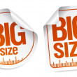 Big size stickers — Stock Vector #27590381