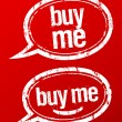 Buy me stamps set. — Image vectorielle
