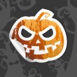 Halloween sticker. — Stock Vector #27591053