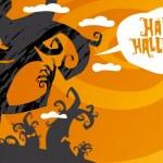 Happy halloween background. — Stock Vector