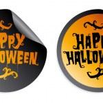 Happy Halloween stickers — Stock Vector #27591115