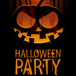 Halloween party. — Stockvector