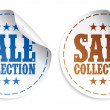 Stock Vector: Sale collection stickers