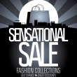 Sensational sale design. — Stock Vector