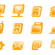 Web icons collection. — Stock Vector