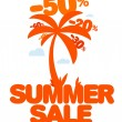 Summer sale. — Vector de stock