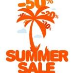 Summer sale. — Stock Vector