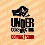 Under construction design. — Stock Vector #27591891
