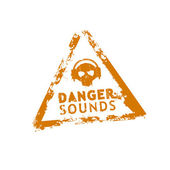 Danger sounds vector rubber stamp — Stock Vector
