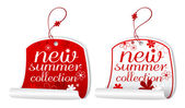 Summer collection labels. — Stock Vector