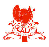 Thanksgiving Day sale. — Stockvector