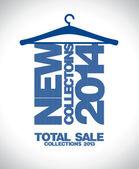 Nieuwe collecties 2014 ontwerp. — Stockvector