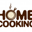 Home cooking icon. — Stok Vektör