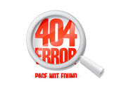 404 error, page not found. — Stock Vector
