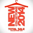 New collections 2014, total sale 2013. — Image vectorielle
