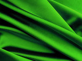 Green silk background. — Stock Photo