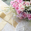 Wedding bouquet of roses. — Stockfoto