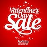 Valentine day sale. — Stock Vector #38781785